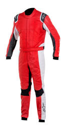 Alpinestars Gp Tech Suit Anthracite Red Silver Anthracite